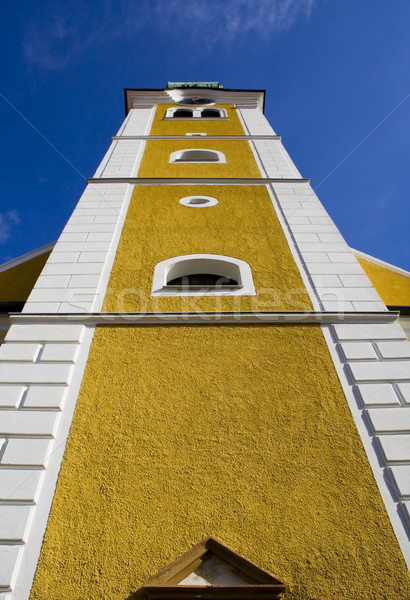 Bell tower from low perspective Stock photo © Ximinez