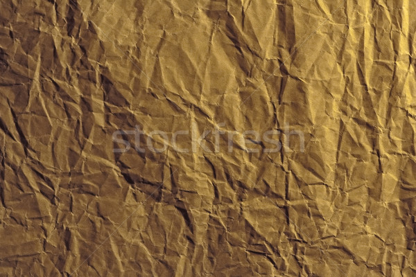 Crumpled wrapping paper background Stock photo © Ximinez