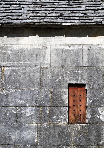 Old stone house exterior Stock photo © Ximinez