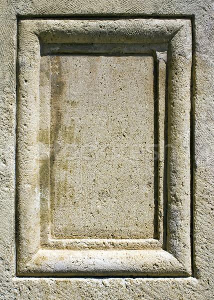 Stone panel Stock photo © Ximinez