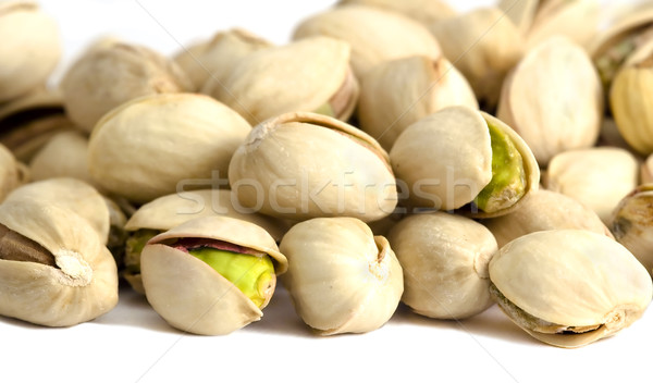 Roasted and salted pistachios Stock photo © Ximinez