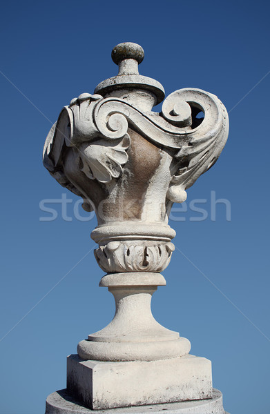 Stock photo: Ornate urn
