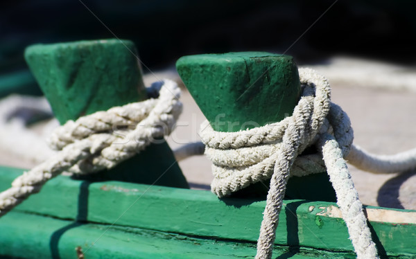 Detalle edad barco buque negro línea Foto stock © Ximinez