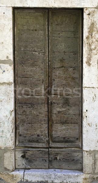 Old door Stock photo © Ximinez