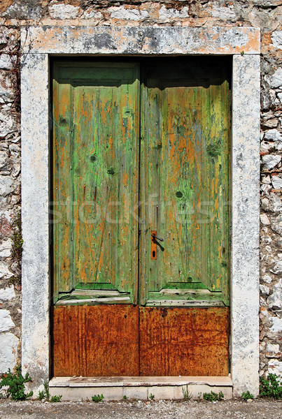 Old door Stock photo © Ximinez