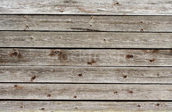 Bord Zaun Kiefer Holz Bau Stock foto © Ximinez