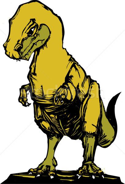 Tyrannosaurus Rex C Stock photo © xochicalco