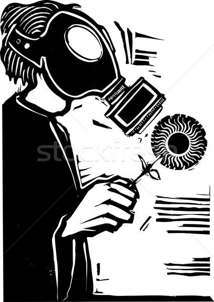 Gas Mask Stock photo © xochicalco