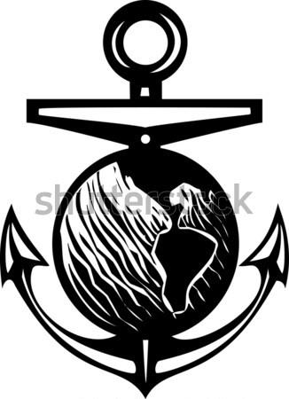 剣 地球 画像 戦争 電源 惑星 ストックフォト © xochicalco