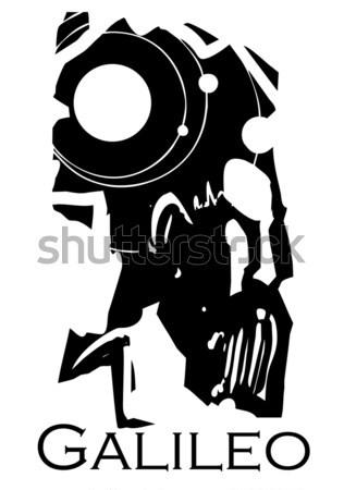Kulcslyuk koponya stílus forma zár szellem Stock fotó © xochicalco