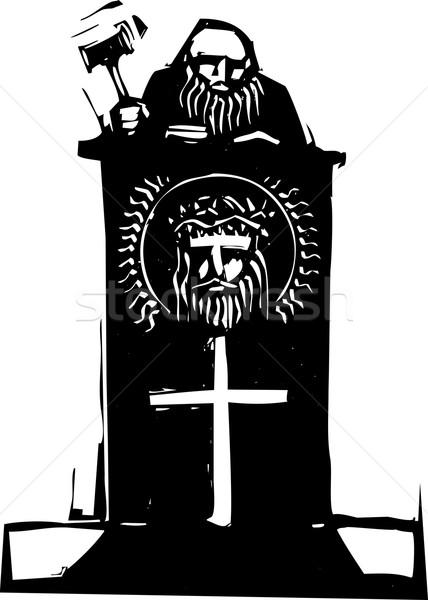 Religious Judge Stock photo © xochicalco