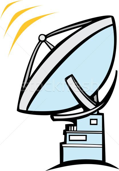 Radio Dish Telescope Stock photo © xochicalco