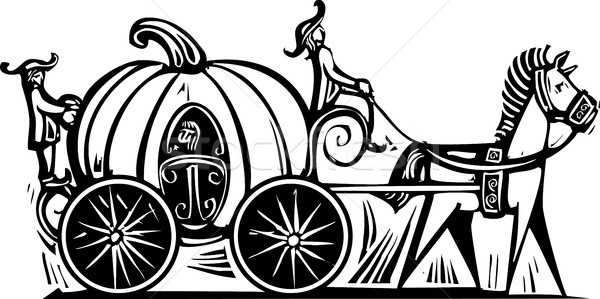 Cinderella's Carriage Stock photo © xochicalco