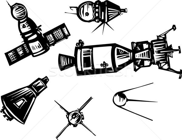 Historical Spaceships Stock photo © xochicalco