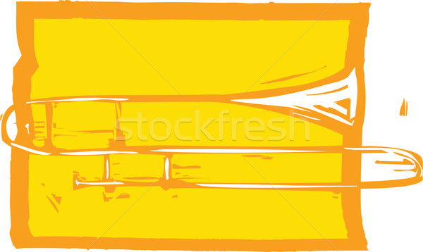 Trombone Stock photo © xochicalco