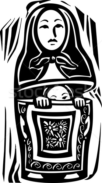 Russian Doll Stock photo © xochicalco