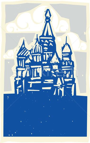 クレムリン モスクワ スタイル デザイン タイプ ストックフォト © xochicalco