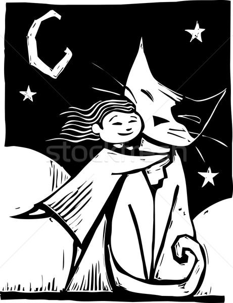 Huggy Cat Stock photo © xochicalco