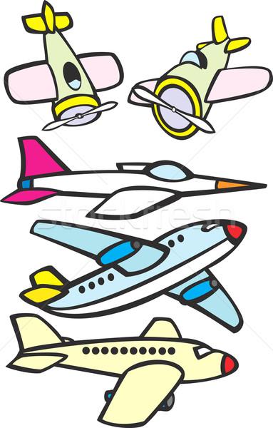 Mixed Toy Aircraft Stock photo © xochicalco