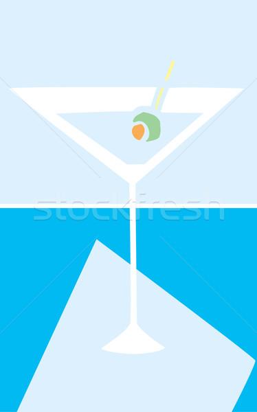 マティーニグラス レトロな クール 色 バー カクテル ストックフォト © xochicalco