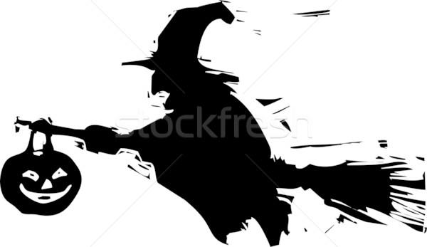Shadow Witch Stock photo © xochicalco