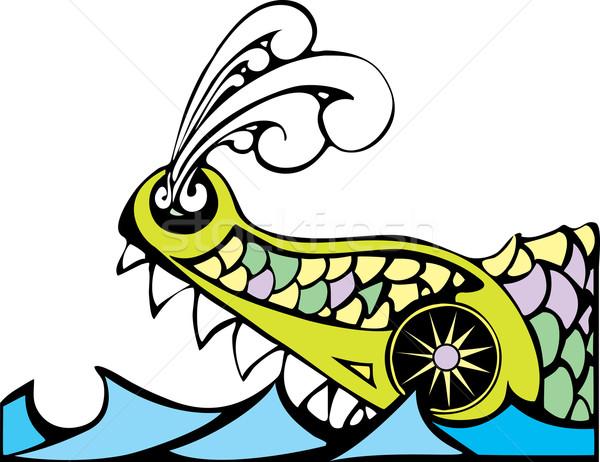 Leviathan Stock photo © xochicalco