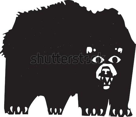 Two Dancing Bears Stock photo © xochicalco