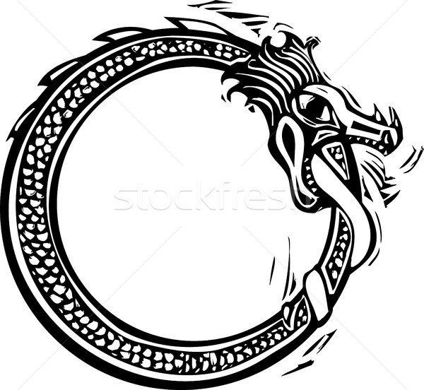 Midgard Serpent Stock photo © xochicalco