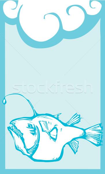 Anglerfish 2 Stock photo © xochicalco