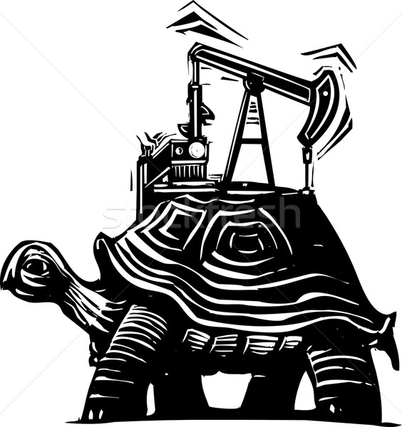 Oil Well Turtle Stock photo © xochicalco