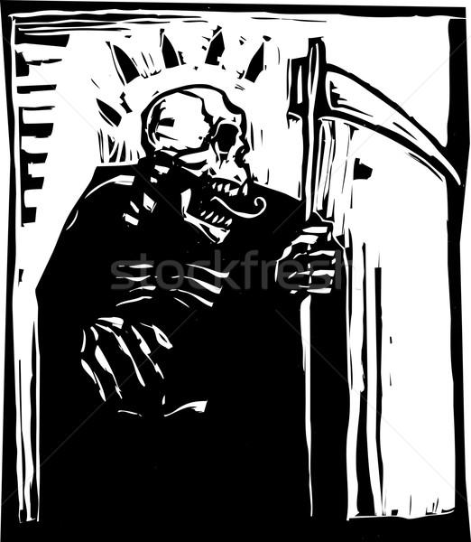 Grim Reaper Stock photo © xochicalco