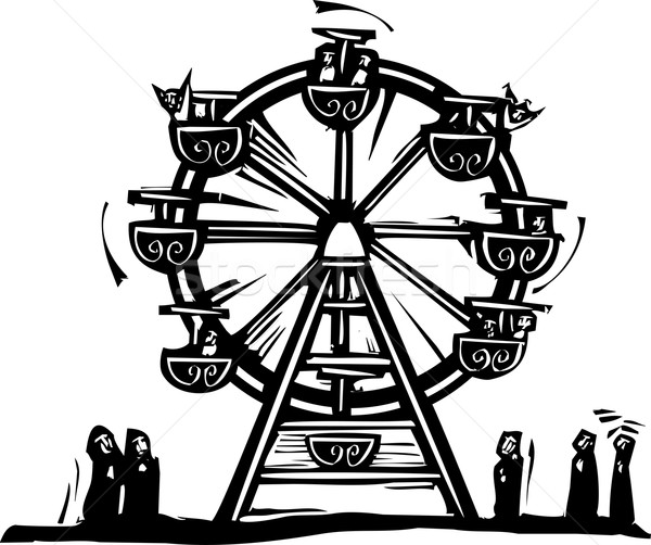 Ferris Wheel Stock photo © xochicalco
