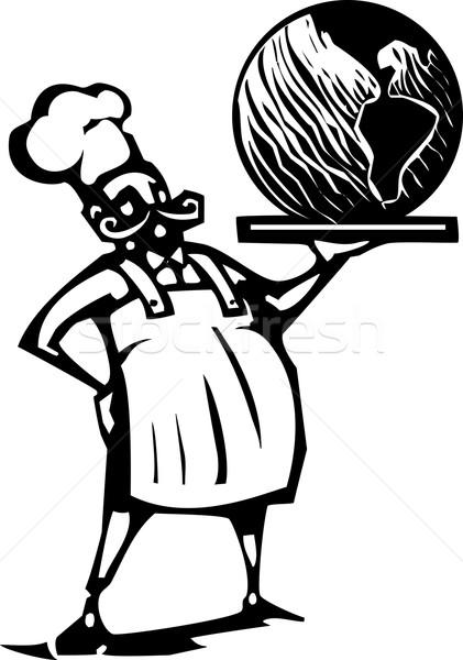 Chef terra estilo imagem francês Foto stock © xochicalco
