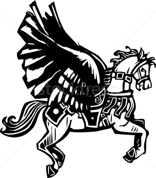 Pegasus Stock photo © xochicalco