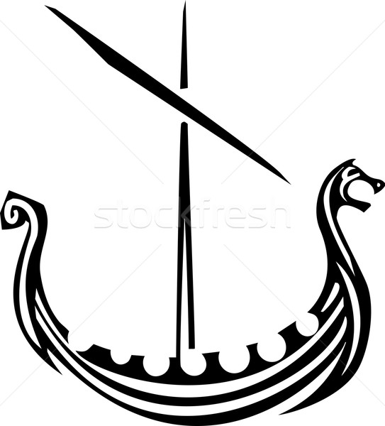 Viking Ship Stock photo © xochicalco