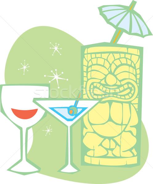 Tiki Drinks Stock photo © xochicalco