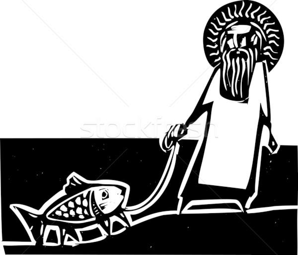 God and Darwin Stock photo © xochicalco