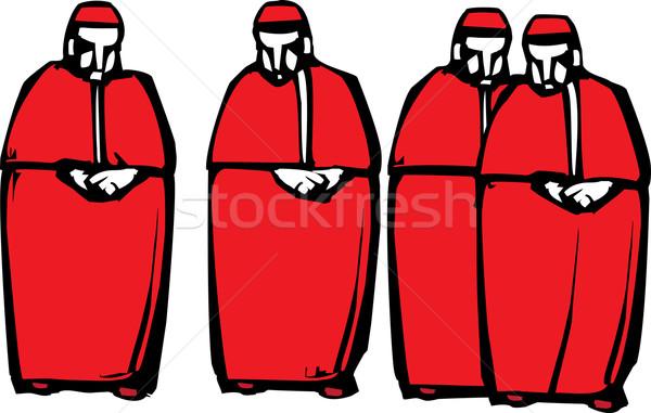 Stil görüntü dört din Mesih Stok fotoğraf © xochicalco