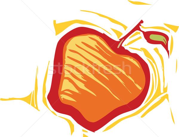 Manzana estilo imagen producir alimentos jardín Foto stock © xochicalco