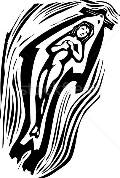 スイミング スタイル 画像 神話の ケルト 水 ストックフォト © xochicalco