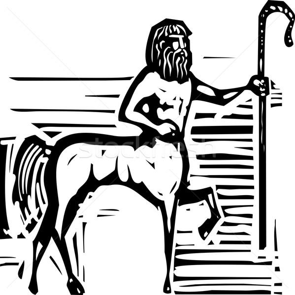 Greek Centaur Stock photo © xochicalco