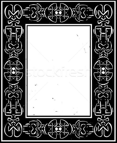 Celtic frontera estilo marco cultura Foto stock © xochicalco