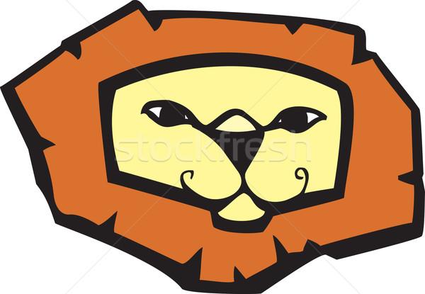 Lion Head Stock photo © xochicalco