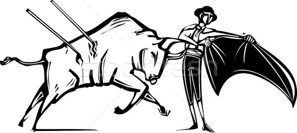 Bullfight Stock photo © xochicalco