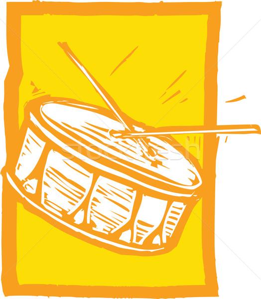 Snare Drum Stock photo © xochicalco