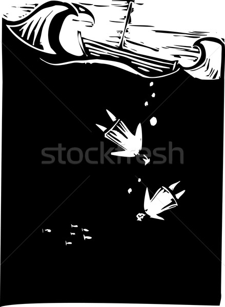 Drowning Stock photo © xochicalco