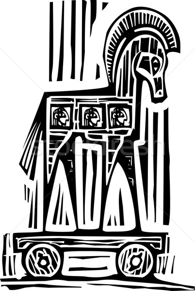 Trojan Horse Stock photo © xochicalco