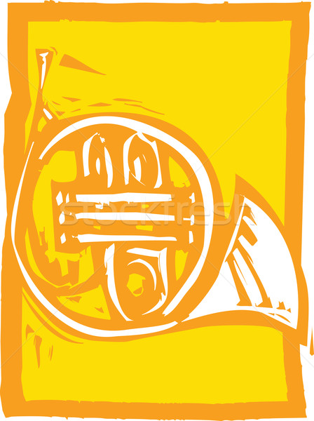 French Horn Stock photo © xochicalco