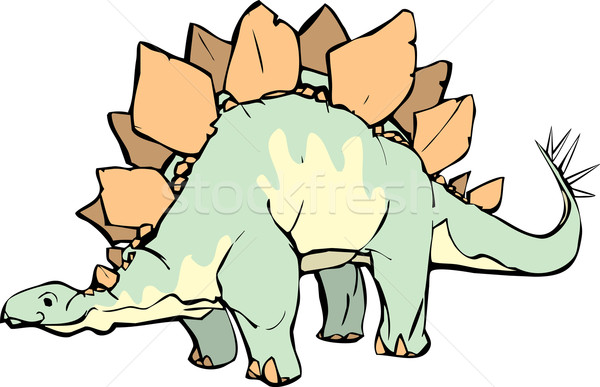 Stegosaurus Stock photo © xochicalco