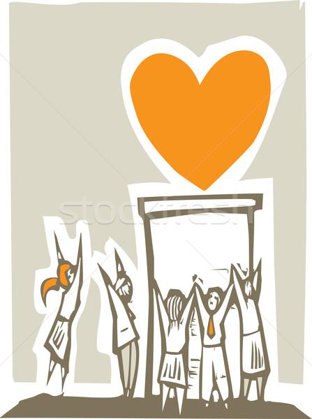 Worshiping Love Stock photo © xochicalco